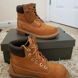 Youth Authentic Timberland boots